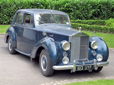 Lot 93-1955 Rolls-Royce Silver Dawn