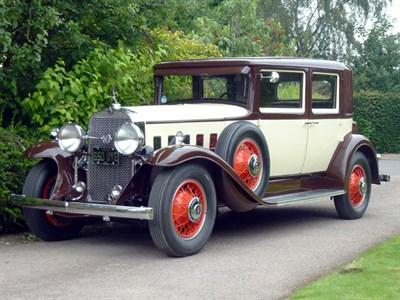 Lot 51-1931 La Salle Series 345-A Town Sedan