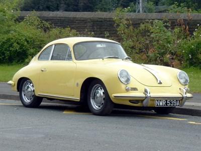 Lot 48-1963 Porsche 356B Coupe