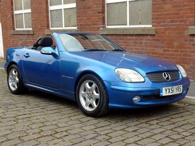 Lot 34-2001 Mercedes-Benz SLK 200 Kompressor