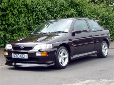 Lot 12-1996 Ford Escort RS Cosworth