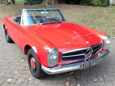 Lot 10-1964 Mercedes-Benz 230 SL