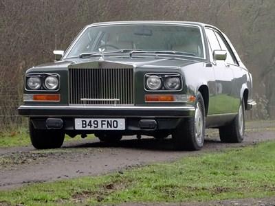 Lot 28-1984 Rolls-Royce Camargue