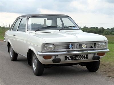 Lot 7-1974 Vauxhall Viva 1300 Deluxe