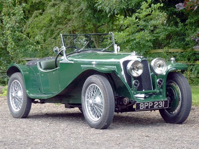 Lot 49 - 1935 Riley 12/4 'Imp' Special