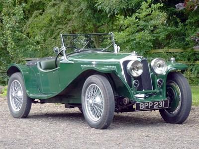 Lot 49-1935 Riley 12/4 'Imp' Special