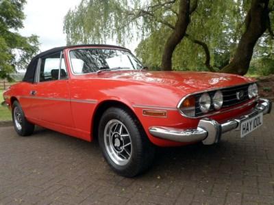 Lot 67-1972 Triumph Stag