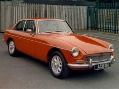 Lot 1-1970 MG B GT