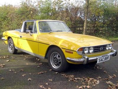 Lot 79-1976 Triumph Stag