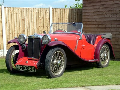 Lot 41 - 1934 MG PA Four-Seater Tourer