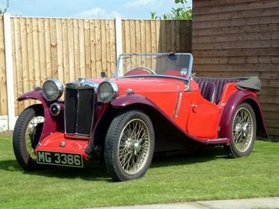 Lot 41-1934 MG PA Four-Seater Tourer