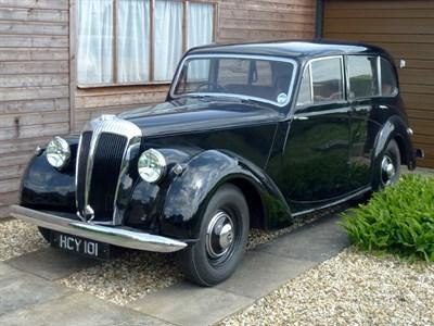 Lot 42-1951 Daimler DB18 Saloon