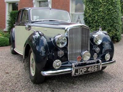 Lot 88-1949 Bentley MK VI Saloon