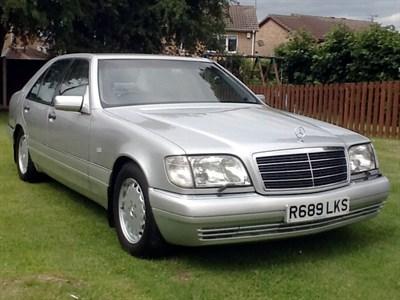 Lot 62-1998 Mercedes-Benz S 320