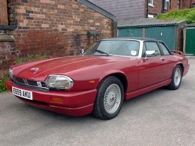 Lot 61-1988 Jaguar XJ-SC 5.3