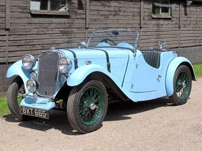 Lot 39-1935 Singer Nine Le Mans