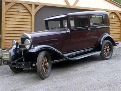 Lot 74-1930 Essex Super Six Saloon