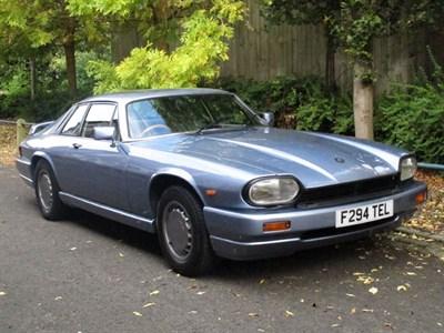 Lot 47-1988 Jaguar XJ-S 3.6