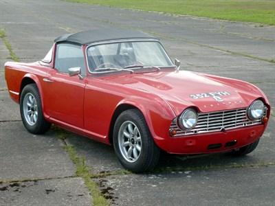Lot 75-1963 Triumph TR4