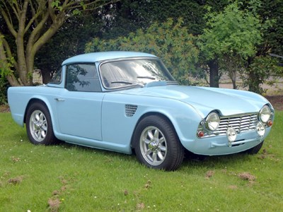 Lot 30-1962 Triumph TR4