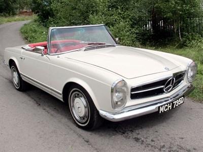 Lot 29-1966 Mercedes-Benz 230 SL