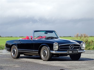 Lot 59-1969 Mercedes-Benz 280 SL