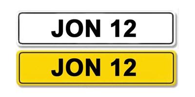 Lot 3 - Registration Number JON 12