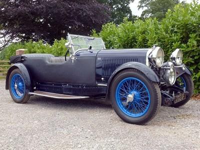 Lot 49-1930 Lagonda 2 Litre Low Chassis Tourer