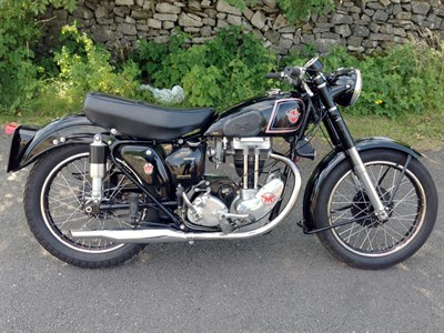 Lot 18-1952 Matchless G3LS