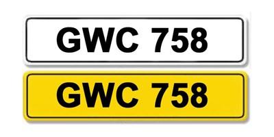Lot 2 - Registration Number GWC 758
