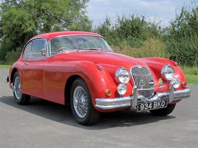 Lot 48-1958 Jaguar XK150 SE 3.4 Litre Fixed Head Coupe
