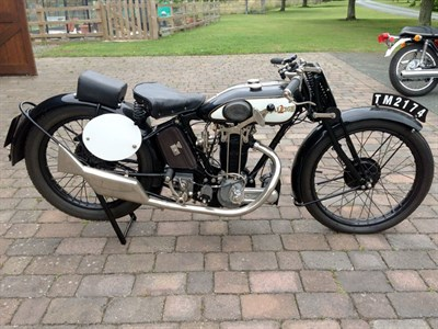 Lot 24-1928 Raleigh Model 26 SS
