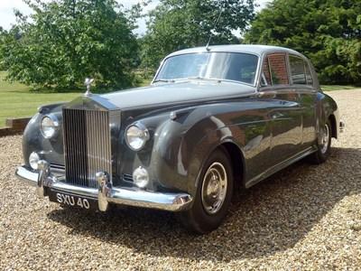 Lot 73-1956 Rolls-Royce Silver Cloud