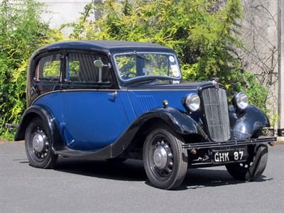 Lot 77-1938 Morris Eight Series II