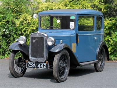 Lot 75-1934 Austin Seven RP Box Saloon