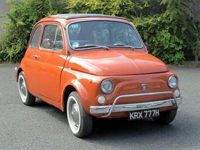 Lot 73-1970 Fiat 500 L