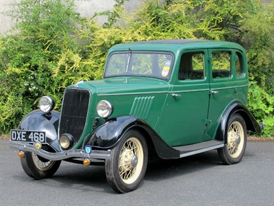 Lot 76 - 1937 Ford Model Y Four-Door Saloon