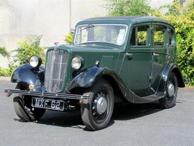 Lot 93-1938 Morris Eight Series II Four-Door