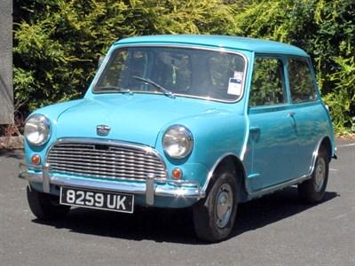 Lot 89-1963 Austin Mini 850
