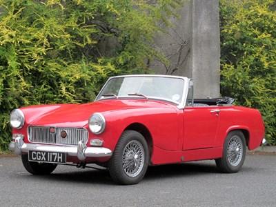 Lot 81-1969 MG Midget 1275