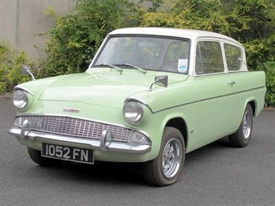 Lot 91-1962 Ford Anglia 105E Deluxe