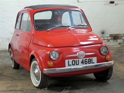 Lot 92-1972 Fiat 500 F
