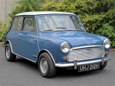 Lot 80-1970 Morris Mini Cooper MKII