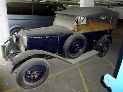 Lot 4-1924 Donnet-Zedel Type G Tourer
