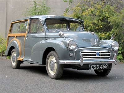 Lot 82-1955 Morris Minor SII 'Split Screen' Traveller