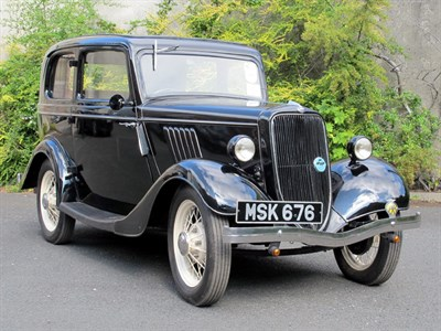 Lot 86 - 1936 Ford Model Y Two-Door Saloon