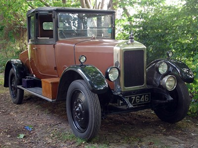 Lot 32 - 1926 Armstrong Siddeley 14hp Chiltern Coupe