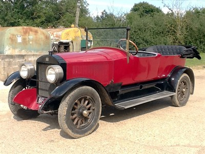 Lot 65-1919 Stanley 735B Tourer