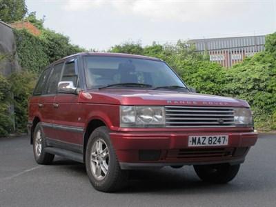 Lot 88-1996 Range Rover 4.0 V8