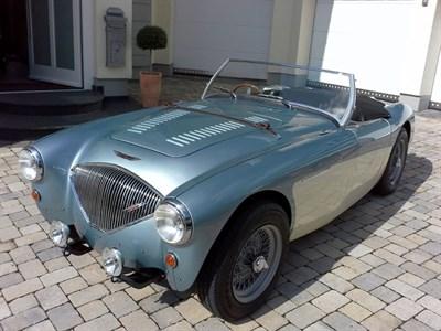 Lot 30-1955 Austin-Healey 100